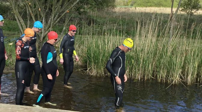 Picture of open water swim at Mike Thurston North Walsham